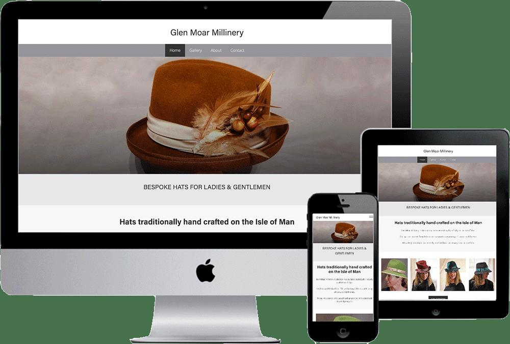 Glen Moar Millinery website