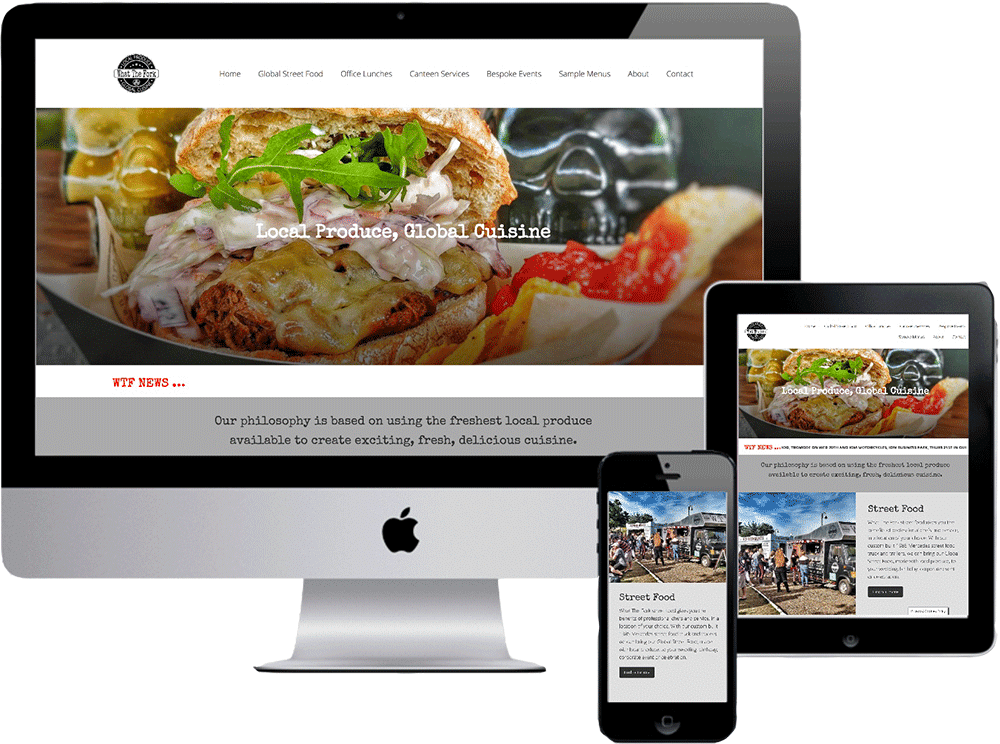 What The Fork IOM catering website